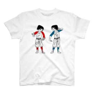 あうんブラザーズ T-shirts