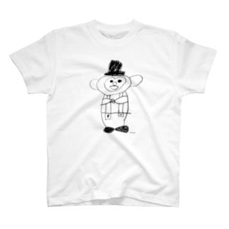 おさるのミント君(薄い色推奨) T-shirts