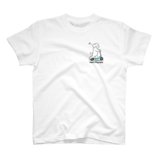 efrinmanのトイプー 1 白系(ワンポイント) T-shirts
