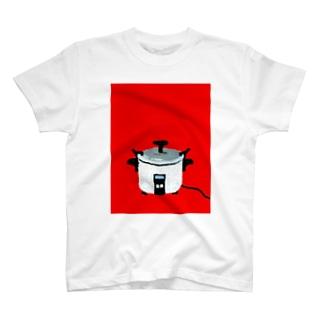 レトロ電気釜 T-shirts