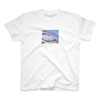 skyさん作!琵琶湖いえあ T-shirts