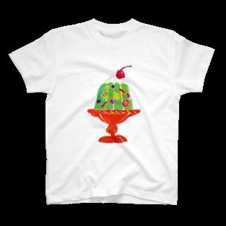 nishiyama_graphyのフルーツゼリー T-shirts