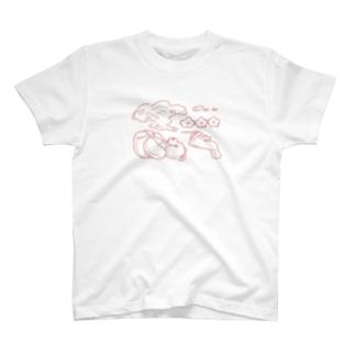 もくもく T-shirts