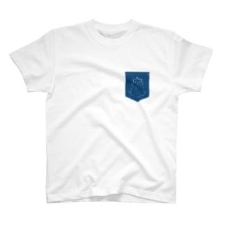 偽ポケットモルモット T-shirts