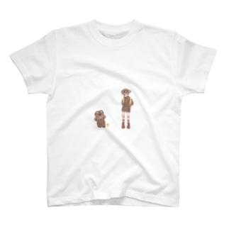 冒険に行こう T-shirts