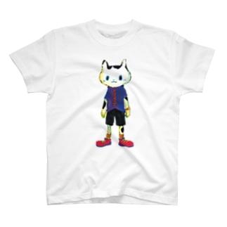 ねこびとさん ヒロ T-shirts