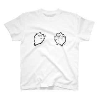 ホヤを胸に T-shirts