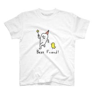 床上浸水とぴよ太郎 T-shirts