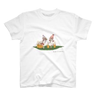 鮭とばちゃんとエビの天使ちゃん T-shirts