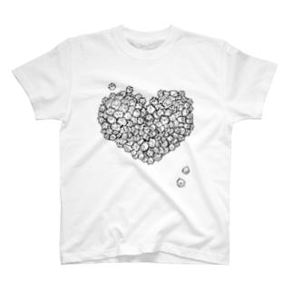 ほやだまハート T-shirts