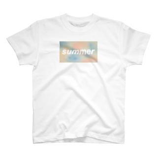 パステルSUMMER T-shirts