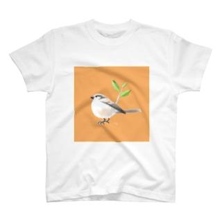 新緑のエナガさん T-shirts