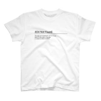 404 not found T-shirts