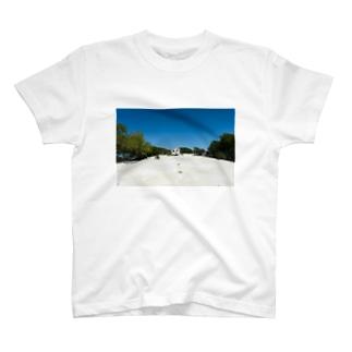 Somewhere beautiful  T-shirts
