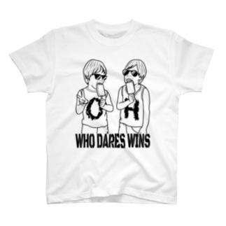 TWINS モノクロ T-shirts