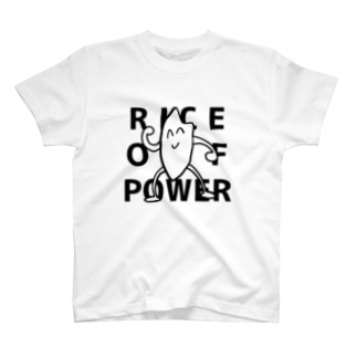 RICE OF POWER(白) T-shirts