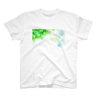風そよぐ T-shirts