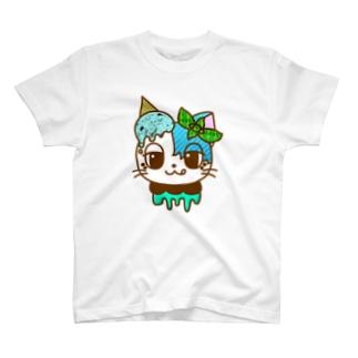 チョコミン党ユルリちゃん T-shirts