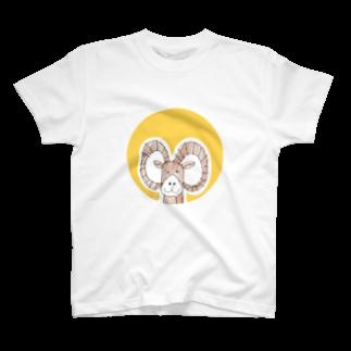 ★いろえんぴつ★のムフロンさん T-shirts