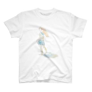 上陸少女 T-shirts