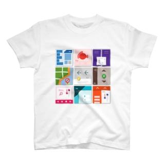 九字 T-shirts