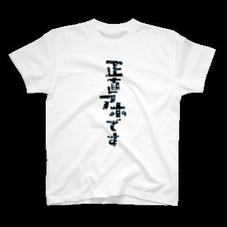 くみた柑の正直アホですTシャツ(改) T-shirts