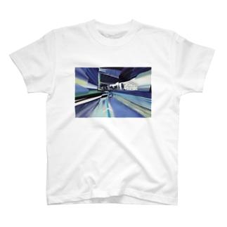 昔は川だったらしい T-shirts