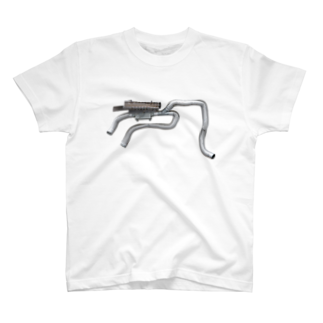 Yusuke Saitohのぐねぐね丸ダクト T-shirts