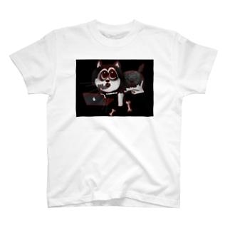 自宅番犬ワンワンTシャツ T-shirts