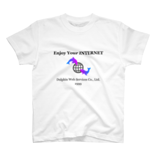 レオナの架空のレトロIT企業グッズ T-shirts