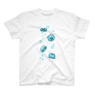 たゆたうミズクラゲ T-shirts