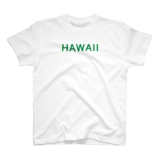 JUST HAWAII (GREEN) T-shirts