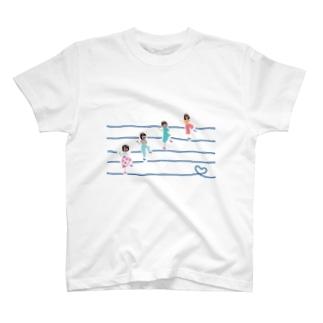 ラインダンス部 T-shirts