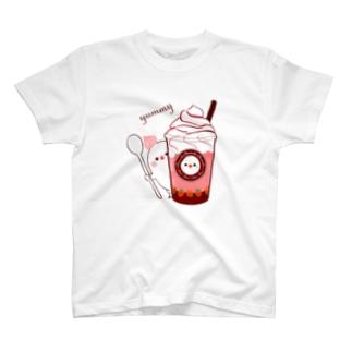 ちゅんカフェ 苺 T-shirts