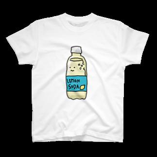 いそがしくてもメシのレモンソーダさん T-shirts