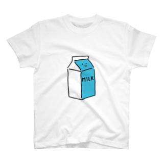 ぎゅうにゅうさん T-shirts