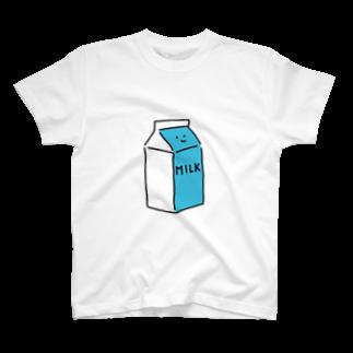 いそがしくてもメシのぎゅうにゅうさん T-shirts