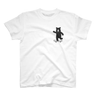 スケボークマさん T-shirts