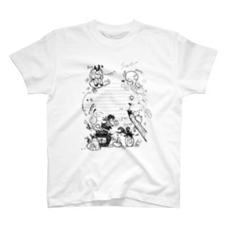 鉛筆の先にマジカル T-shirts