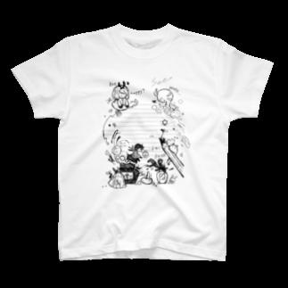HAPPEACEの鉛筆の先にマジカル T-shirts