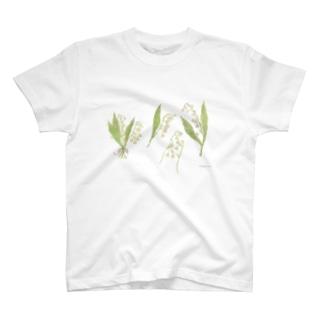 こうふくのブーケ T-shirts