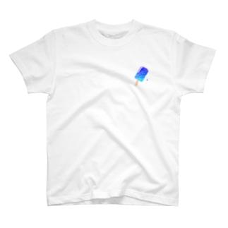 ブルーハワイ アイスキャンディー T-shirts