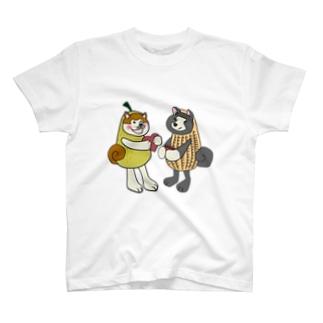 のっぴきならない。ラインスタンプ発売中ののっぴきならない/保護犬アキタイヌ T-shirts
