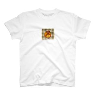 オランウータンは賢いおさるさん T-shirts