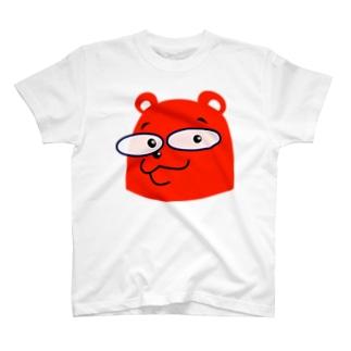 くま両面 T-shirts