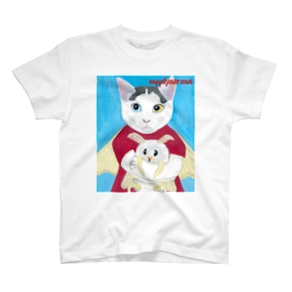 のっぴきならない/保護猫フミ T-shirts