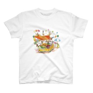 おさるのお店 T-shirts