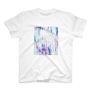 クレヨンコントラスト T-shirts