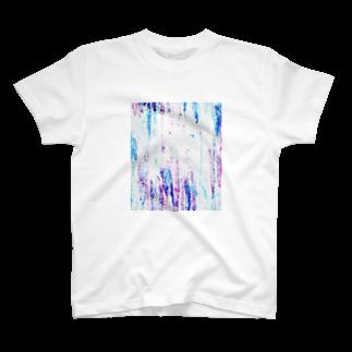 ふじきゃすのショップ!のクレヨンコントラスト T-shirts