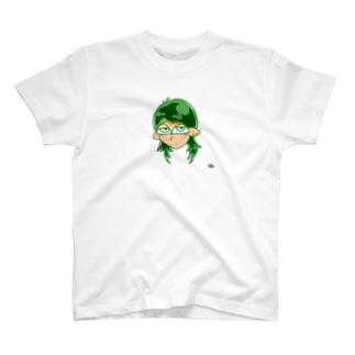 おっぱい💚 T-shirts